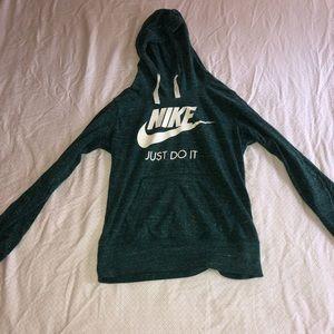 dark green nike hoodie